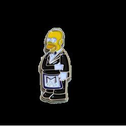 PIN divertido Homer Simpson