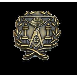Pin templo maçónico